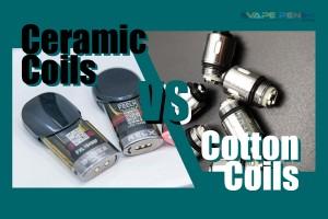 Ceramic Coil vs Cotton Coil