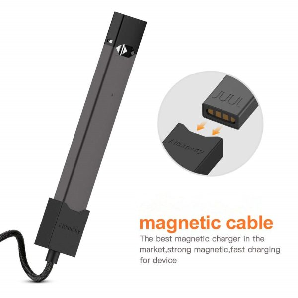 Compatible USB Magnetic Charger For JUUL - 80CM | Vapepenzone