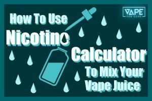 Nicotine Calculator Cover