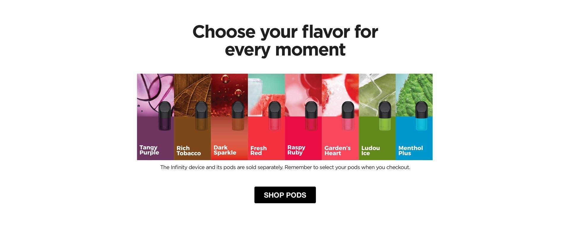 Buy RELX Pod Pro Flavour