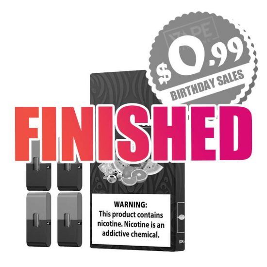 JUUL Pods Sale Finished