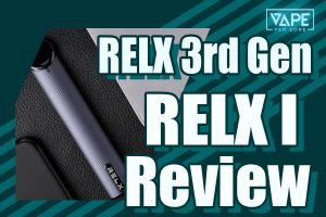 RELX I - What Does A Bluetooth-enabled Vape Look Like? | VapePenZone
