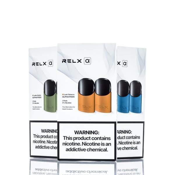 RELX Alpha Starter Kit + 2 Packs Pods | VapePenZone