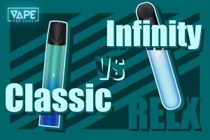 relx classic vs infinity cover