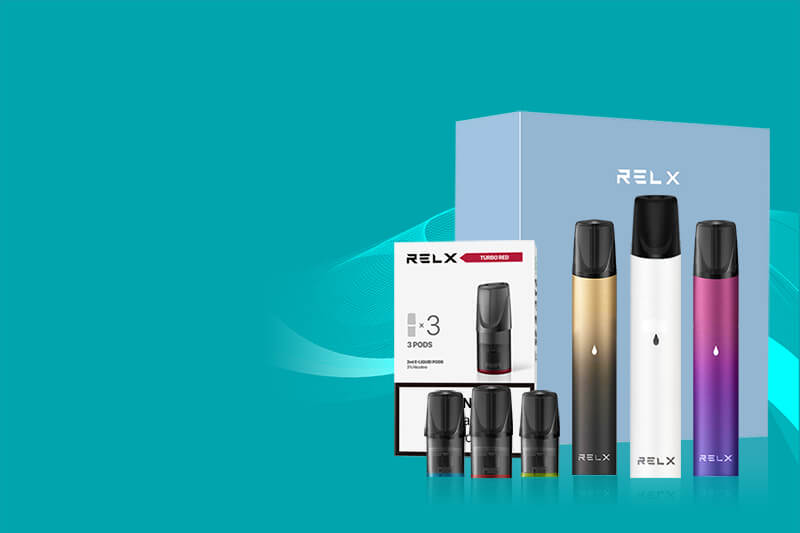 RELX Classic Starter Kit & Pods