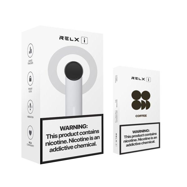 RELX I Starter Kit + 2 Packs Pods | VapePenZone