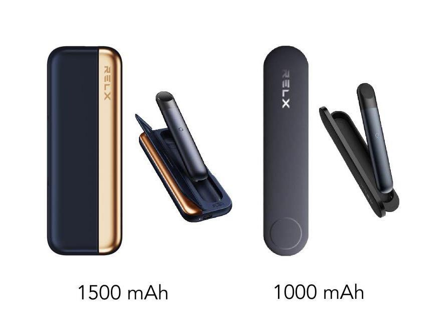 relx infinity charging cases