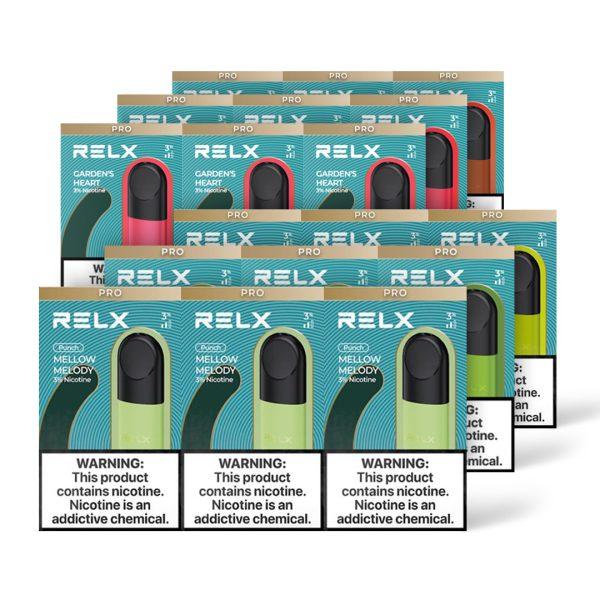 RELX Pod Pro Bundle (6 Packs)   VapePenZone