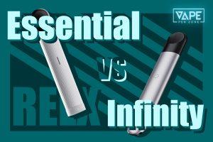 relx infinity vs essential cover