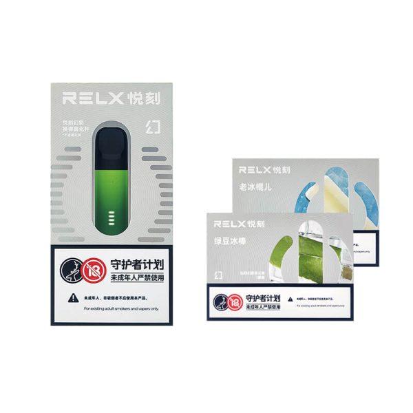 RELX Phantom Starter Kit + Pods (2 Packs) | VapePenZone