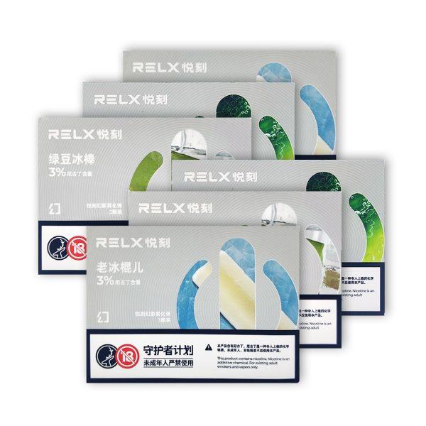 RELX Phantom Pod Bundle (6 Packs) | VapePenZone