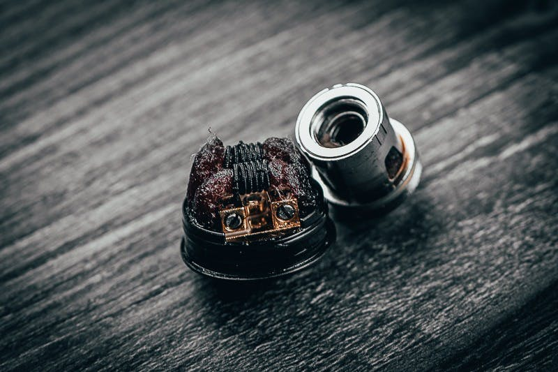 how to clean vape coil