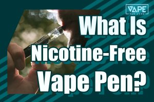 what is nicotine free vape pen cover