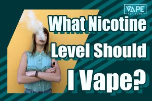 what nicotine level should i vape cover