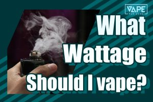 what wattage should I vape at cover