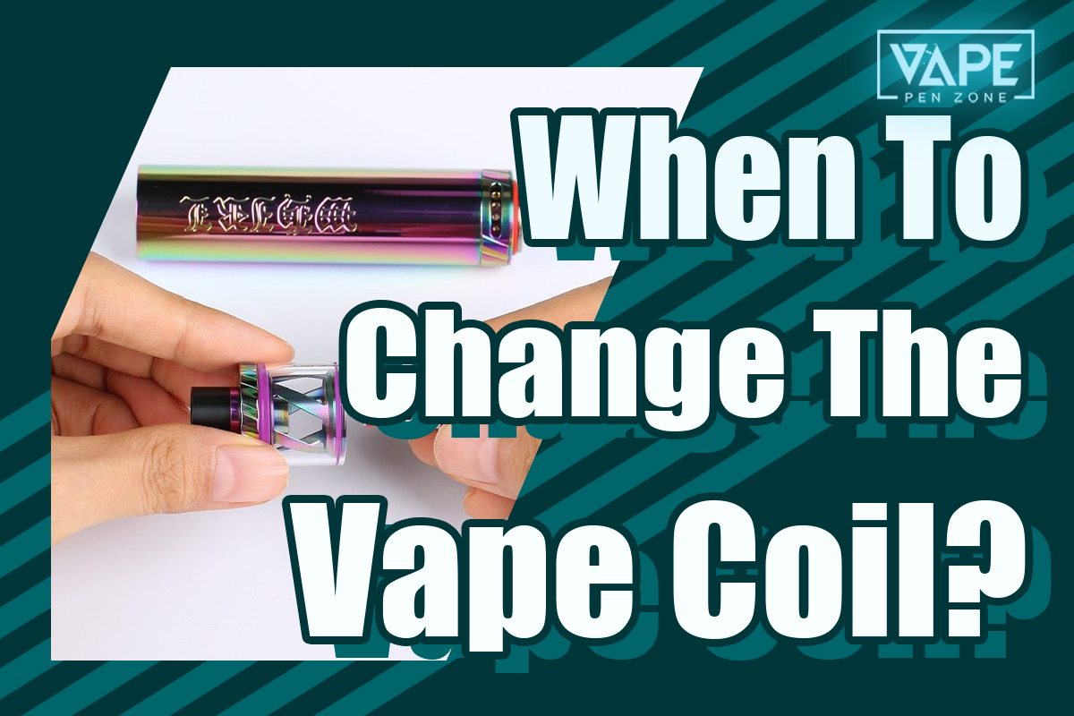when to change vape coil cover